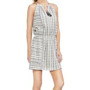 Vince Camuto Cotton Tassel-Tie Dress